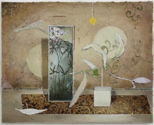 Dauerhaft ausgestellt in der G2 Kunsthalle Leipzig: Matthias Weischer, Leporello, 2010, Sammlung Hildebrand, Leipzig. Foto: Uwe Walter, Berlin © VG Bild-Kunst, Bonn 2015.