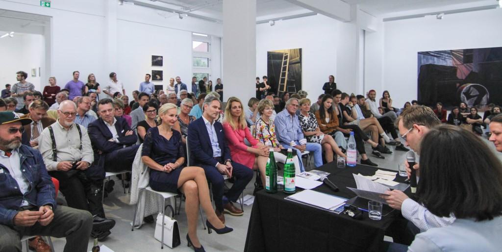 Artist talk & book launch with/mit Katrin Heichel & Clemens Meyer, 13 July 2016 / 13. Juli 2016, Exhbition/Ausstellung Katrin Heichel – NOCTURAMA © G2 Kunsthalle Leipzig