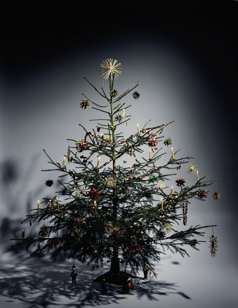 Andreas Mühe, Weihnachtsbaum 1979, from the series: Weihnachtsbäume, 2016, 38 photographies, 54,8 x 47,8 cm (each), Courtesy KÖNIG Galerie, Berlin/London © Andreas Mühe / VG Bild-Kunst, Bonn 2018