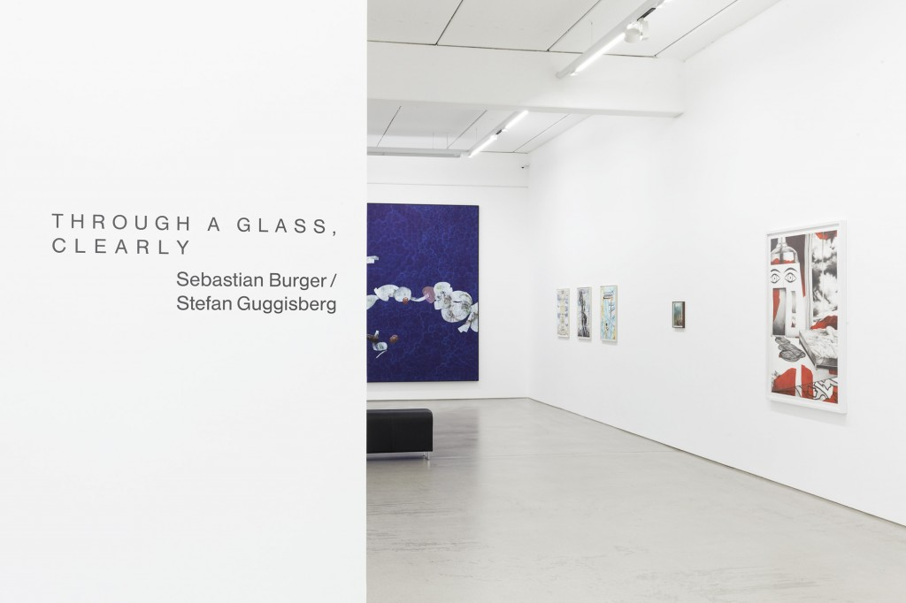 Installation view / Ausstellungsansicht: Sebastian Burger & Stefan Guggisberg – THROUGH A GLASS CLEARLY, G2 Kunsthalle, Leipzig, 9. September 2016 – 15. Januar 2017, photo: Dotgain.info © the artists & G2 Kunsthalle Leipzig