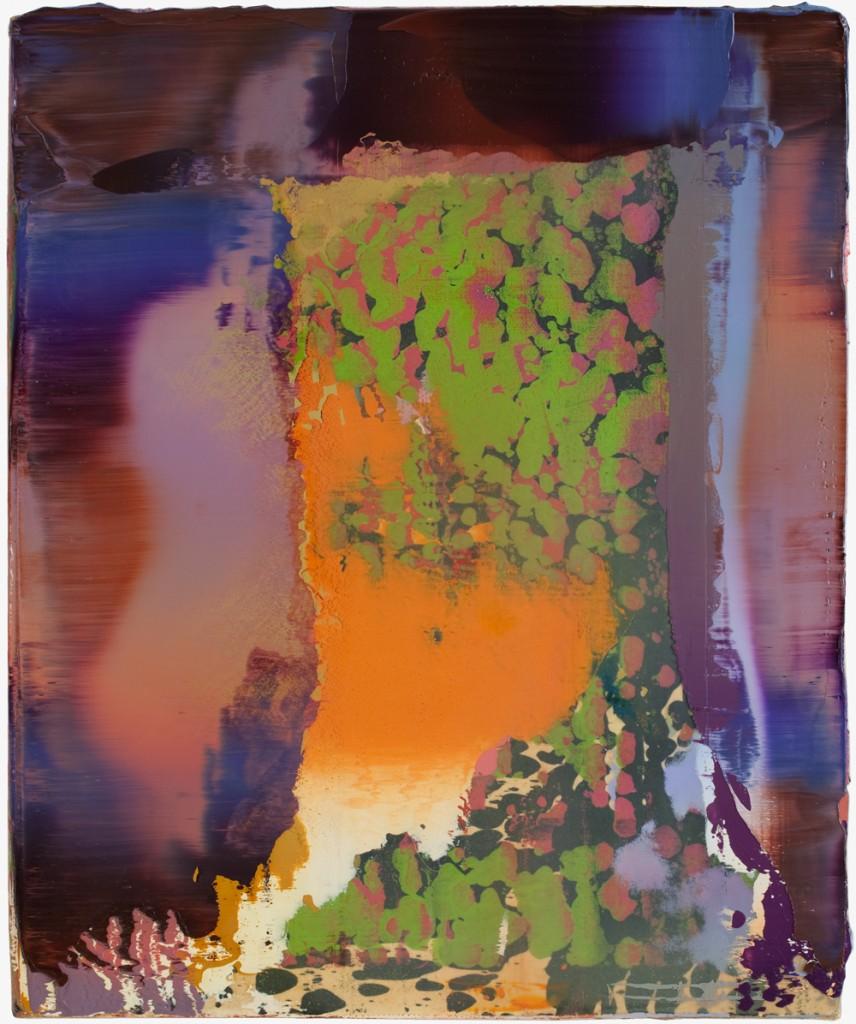 Peter Krauskopf, ALTES BILD, B 150117, 2017, oil on linen, 56 x 46 cm  © Peter Krauskopf / VG Bild-Kunst Bonn 2017 Courtesy the artist & Galerie Jochen Hempel, Berlin/Leipzig
