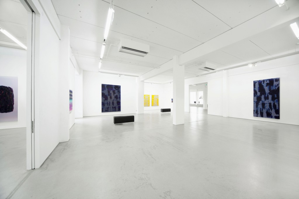 Installation view/ Ausstellungsansicht STRUKTUR with art works by / mit Werken von Peter Krauskopf, G2 Kunsthalle Leipzig, 13 October 2017 – 21 January 2018 © the artist & G2 Kunsthalle Leipzig, photo: Uwe Walter