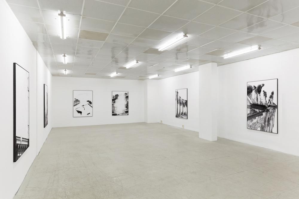 Installation view / Ausstellungsansicht Daniel Poller – DER GROßE GEWINN, G2 Projektraum, 13. Oktober – 16. November 2017 copyright the artist & G2 Kunsthalle Leipzig