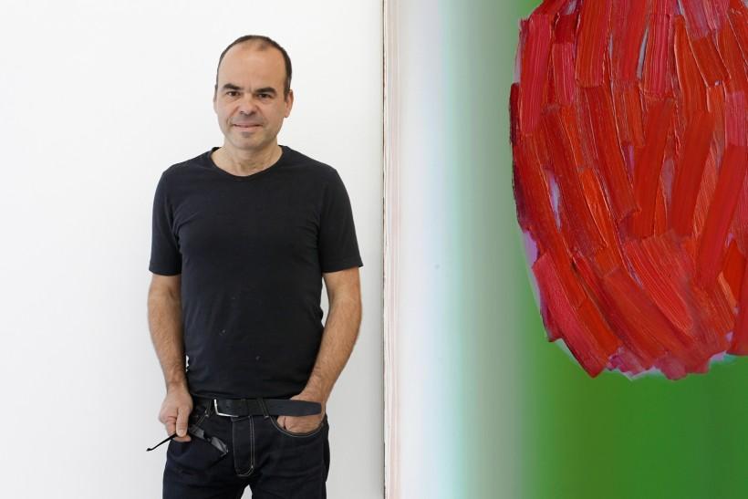 1_Peter Krauskopf, G2 Kunsthalle vor Bild