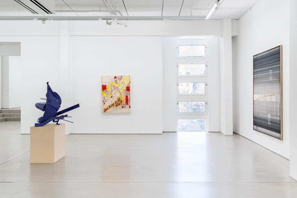 THE ART OF RECOLLECTING, G2 Kunsthalle Leipzig, 7 February - 21 May 2018, installation view with art works by Thomas Kiesewetter, Birgit Brenner & Stefan Vogel, photo: Dotgain.info © the artists & G2 Kunsthalle, Leipzig.