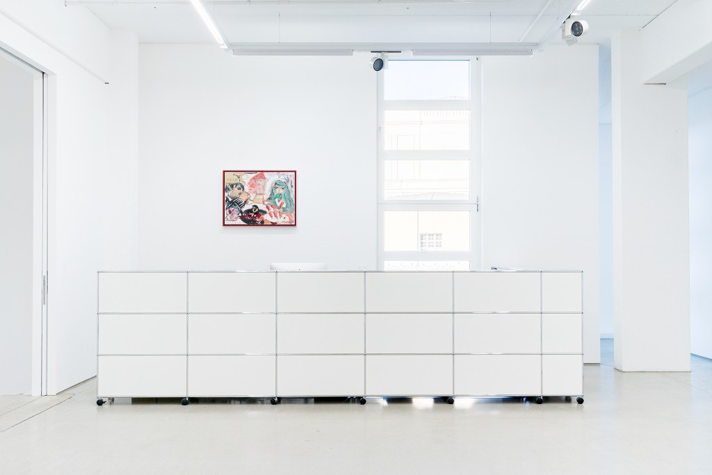 THE ART OF RECOLLECTING, G2 Kunsthalle Leipzig, 7 February - 21 May 2018, installation view with
