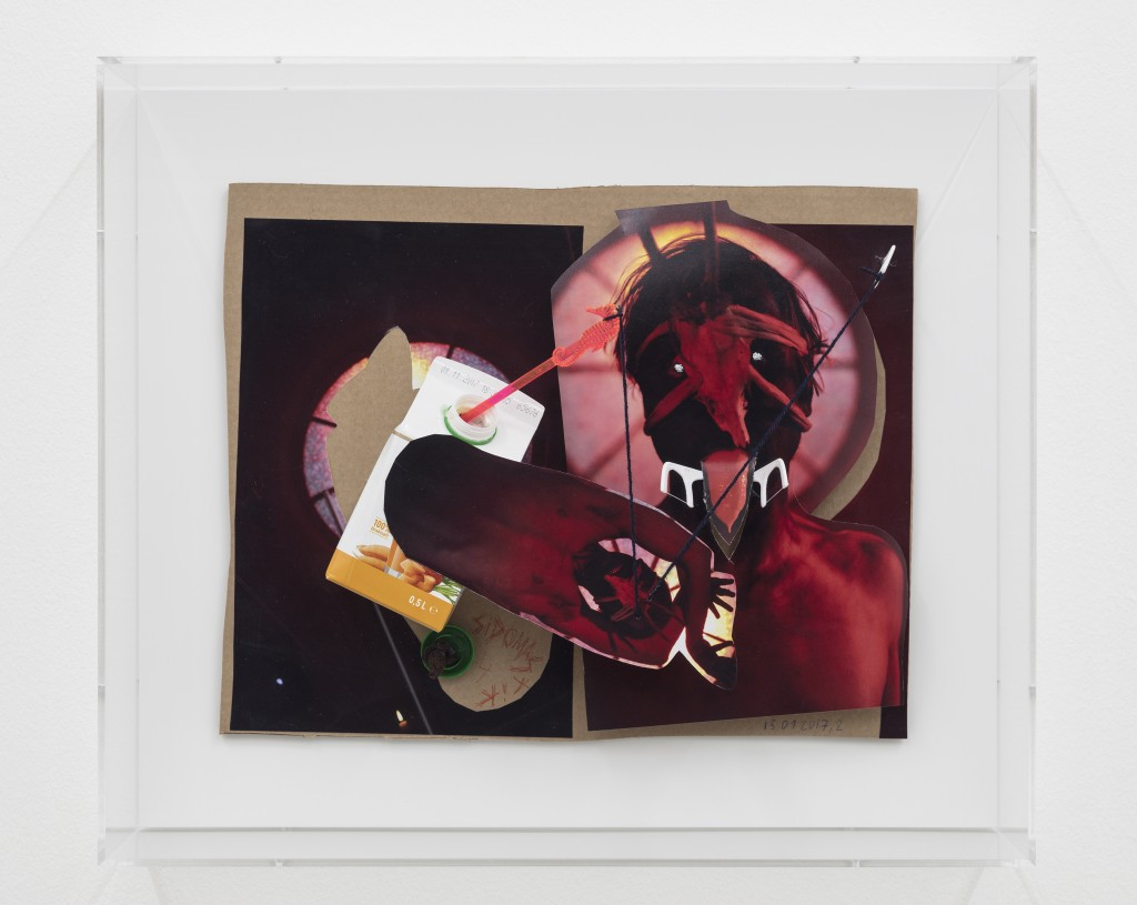 John Bock, untitled , 2017, mixed media, 44 x 51 x 15,5 cm, Hildebrand Collection Leipzig & Philara Collection Düsseldorf © John Bock, courtesy the artist & Sprüth Magers, photo: Timo Ohler