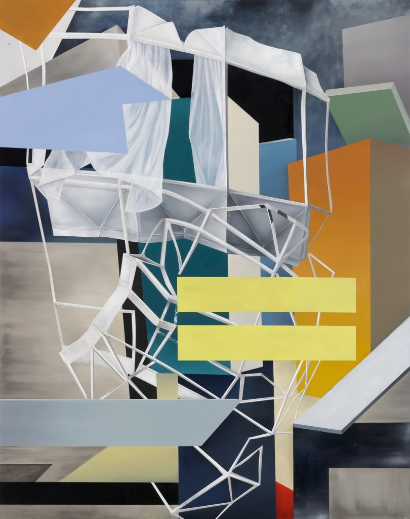 Oskar Rink, MONO, 2018 oil on canvas, 240 x 190 cm © Oskar Rink, photo: Gustav Franz