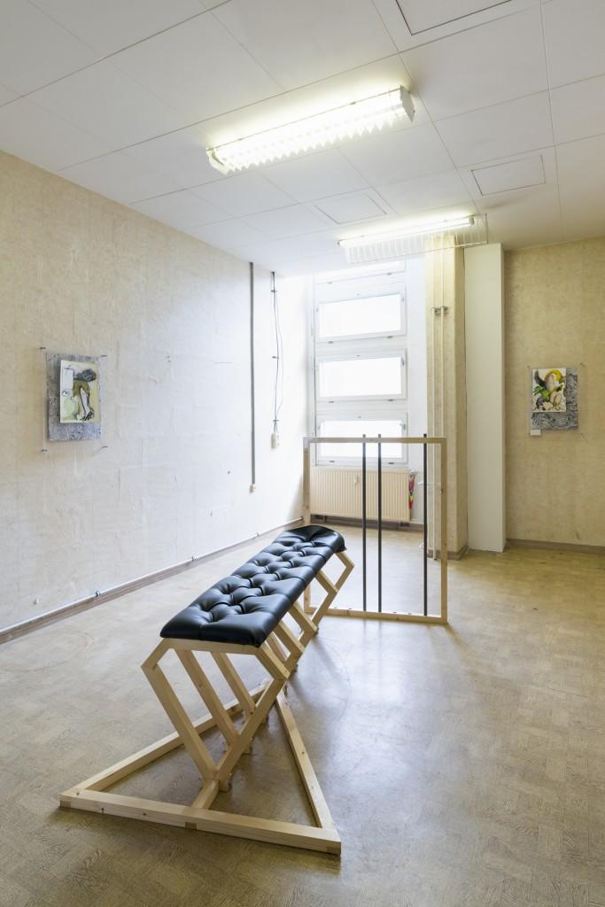 Christian Kölbl, DADDY – Klasse Riedel, 21 June – 11 July 2018, G2 Projektraum (G2 Kunsthalle Leipzig), photo:  graysc.de