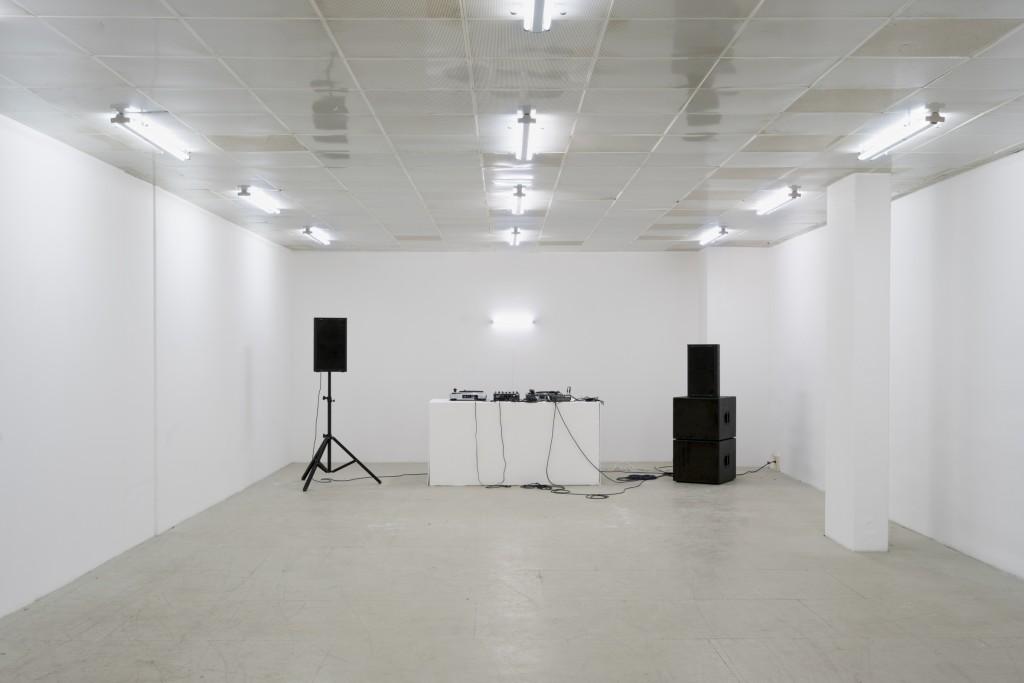Installation view, DADDY – Klasse Riedel, 21 June – 11 July 2018, G2 Projektraum (G2 Kunsthalle Leipzig), photo:  graysc.de
