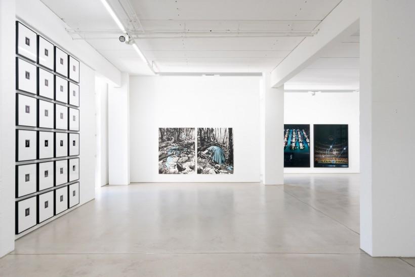 8_installation view IM OSTEN NICHTS NEUES_Muehe_Nebe_G2 Kunsthalle Leipzig_photo Dotgain_DSC0633