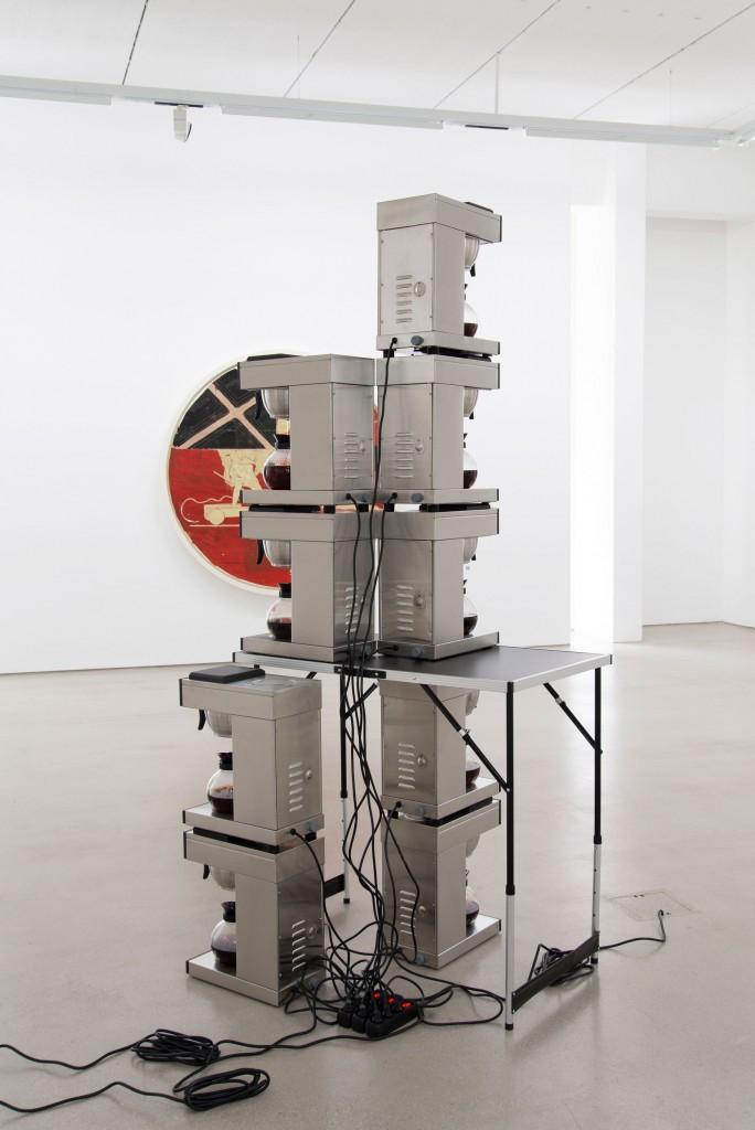 Installation view: Christian Kölbl – EXHIBITION OPENING, G2 Kunsthalle Leipzig, 1.– 7. Juli 2021, Foto: Anna Sophie Knobloch © G2 Kunsthalle Leipzig & Christian Kölbl